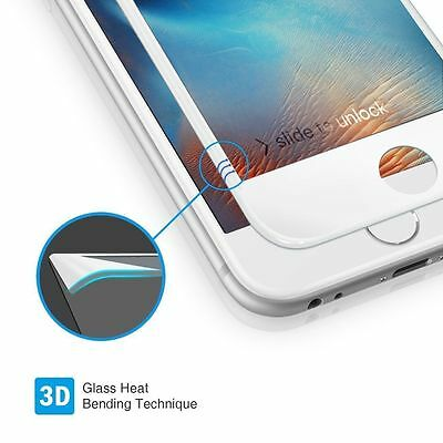 3D Full Coverage Tempered Glass Screen Protector Cover For iPhone 6 6S 7 + Plus 5