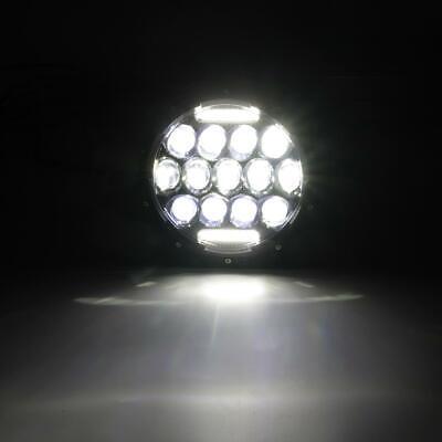 "Pair 7"" INCH LED Headlights Hi/Lo Beam DRL For Jeep Wrangler CJ JK LJ TJ Rubicon 11"