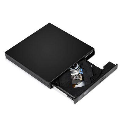USB 2.0 Slim Extern DVD Laufwerk DVD Combo Brenner DVD-ROM CD-RW Für PC Laptop