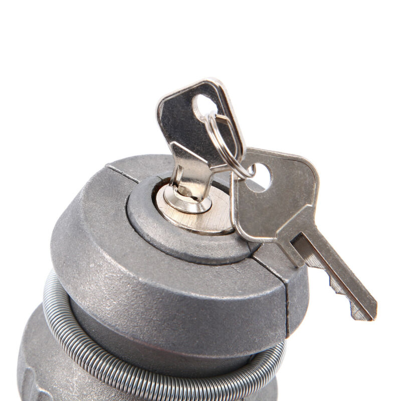 Anhängerschloss Diebstahlsicherung + 2 Schlüssel für Auto Anhänger Wohnwagen 8