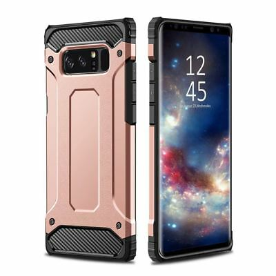 Hybrid Armor Shockproof Rugged Bumper Case For Samsung Galaxy S7 Edge S8 Note S9 9