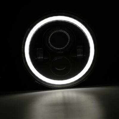 "Pair 7"" INCH 200W LED Headlights Halo Angle Eye For Jeep Wrangler CJ JK LJ 97-18 11"