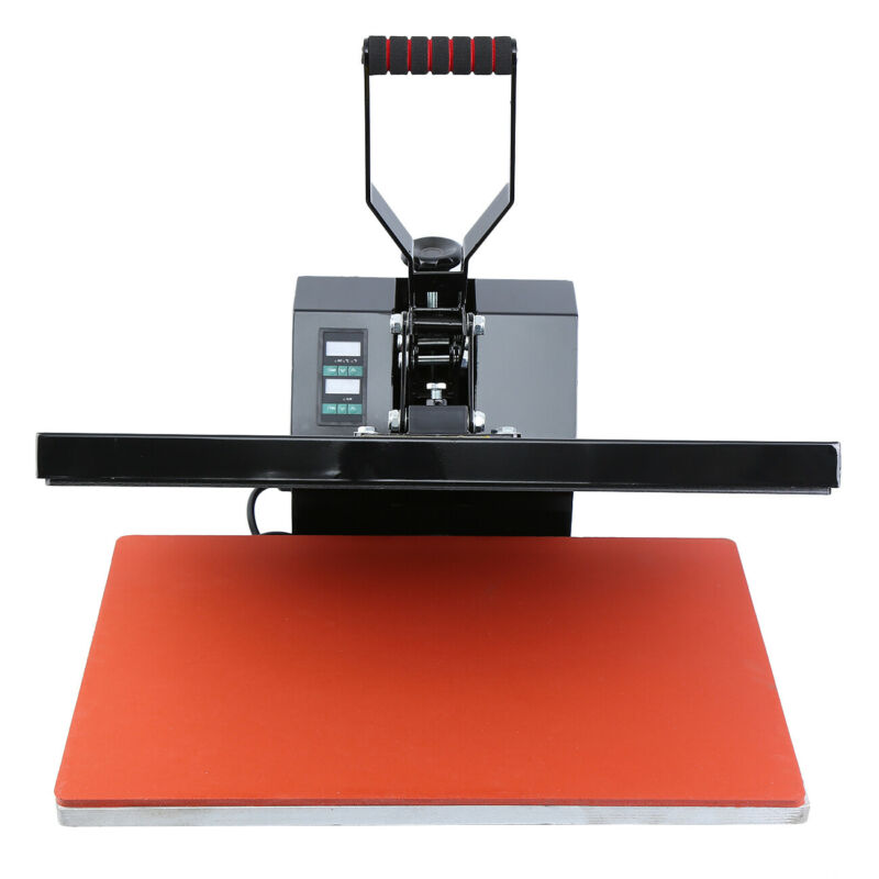 16x24 Digital LCD Clamshell Heat Press Transfer Sublimation Machine for T-Shirt 2