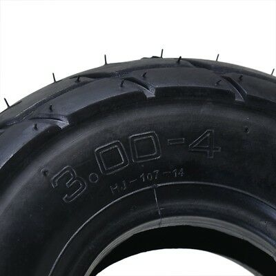 3.00-4 9x3.5-4 Tire Tyre and Tube for ATV Quad Pocket Scooter Razor E300 MX350