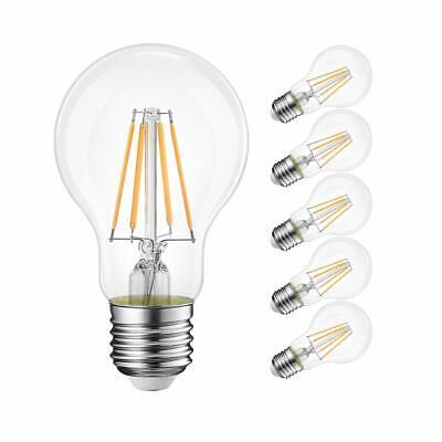 1x/4x 2W 4W 6W 8W E27 E14 LED Edison Filament Candle Globe Light Bulbs Lamp 5