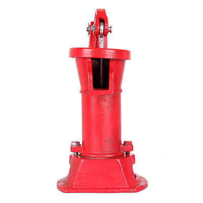 Functional Hand Water Well Pump Pitcher Cast Iron Press Suction Outdoor Yard NEW 4