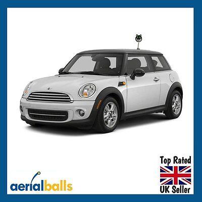 Cute Lucky Black Cat Car Aerial Topper Ball Antenna - Exclusive design! 2