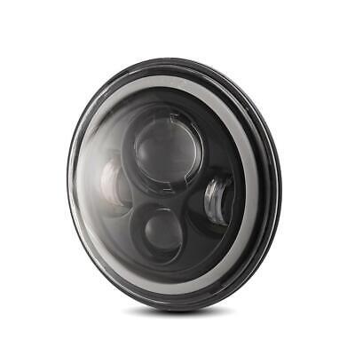 "Pair 7"" INCH 200W LED Headlights Halo Angle Eye For Jeep Wrangler CJ JK LJ 97-18 2"