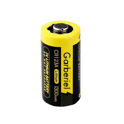 20-Pack 3V 1300mAh 16340 Flashlight 85177 CR123A High Power Li-Ion Batteries Hot 6