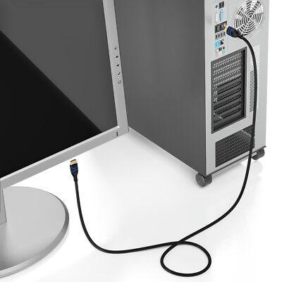 deleyCON 5m HDMI Kabel HDMI 2.0 kompatibel 4K UHD 2160p FULL HD 1080p 3D ARC HDR