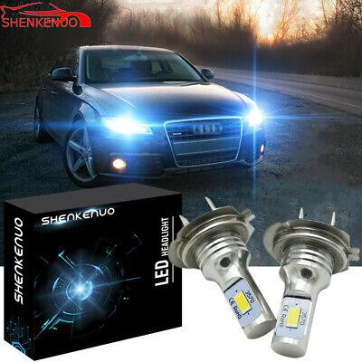 Mercedes CLK C209 H7 501 100w Super White Xenon HID Low//Side Headlight Bulbs Set