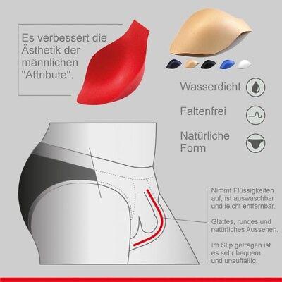 81-008 Herren Pants Eisseide mit Penishülle Slip Boxer Shorts 6 Farben in S-2XL 10