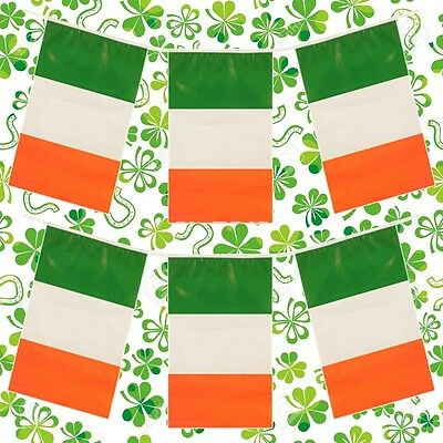 12ft St Patricks Day Flag Bunting Ireland Irish Party Decoration Rugby QR36 2