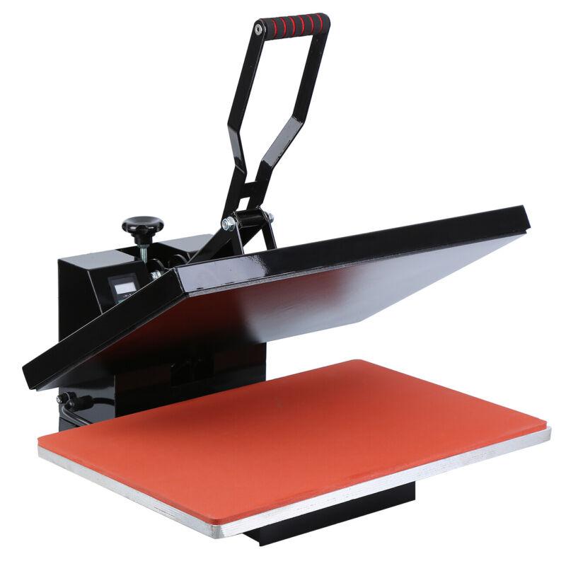 "1600W Digital Clamshell Heat Press Transfer T-Shirt Sublimation Machine 16""x24"" 7"