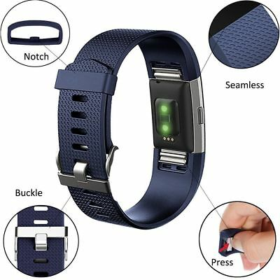 Fitbit Charge 2 Small Replacement Bracelet Watch Band Heart Rate Fitness 3 PACK 5