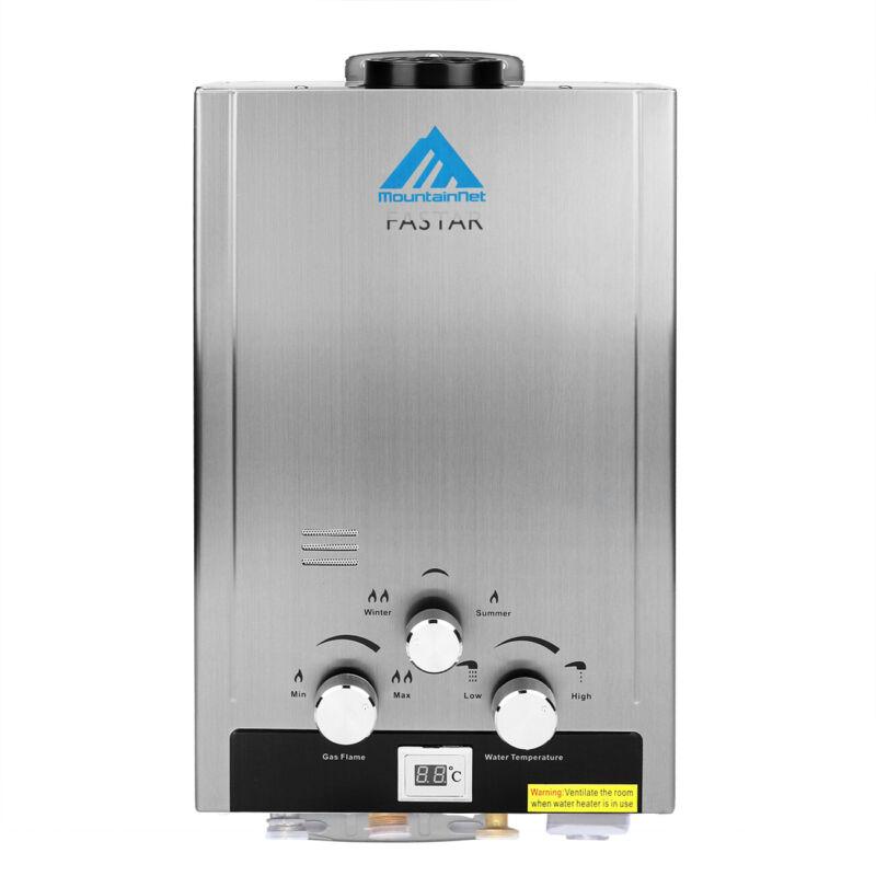 6/8/12/18L Chauffe eau au Gas NG / LPG instantané à gaz propane butane Chaudière 6