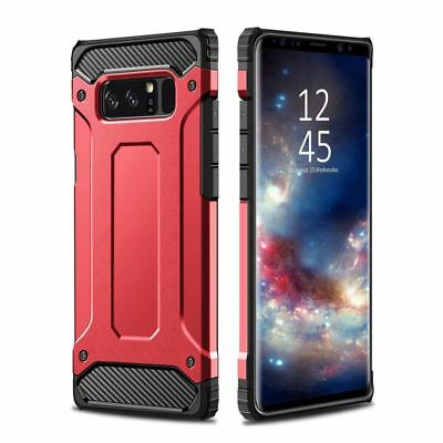 Hybrid Armor Shockproof Rugged Bumper Case For Samsung Galaxy S7 Edge S8 Note S9 2