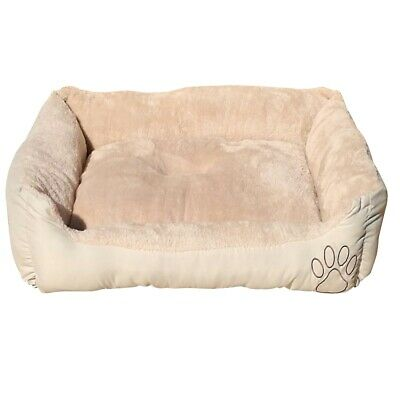 Heritage Deluxe Soft Washable Dog Pet Bed Warm Basket Cushion with Fleece Lining 4