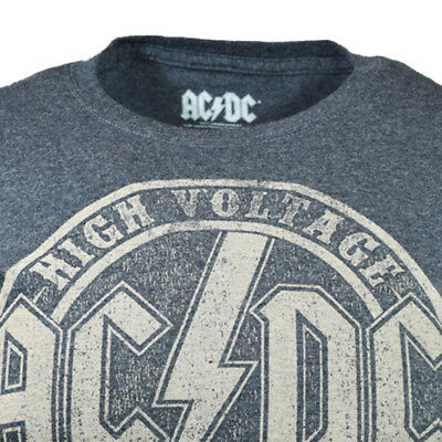 AC//DC High Voltage Rock /& Roll 1975 Adult T Shirt Heavy Metal Music