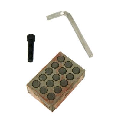 23 Holes 1-2-3 Block Set Socket Head Cap Screws & wrench 2