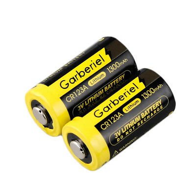 20-Pack 3V 1300mAh 16340 Flashlight 85177 CR123A High Power Li-Ion Batteries Hot 3
