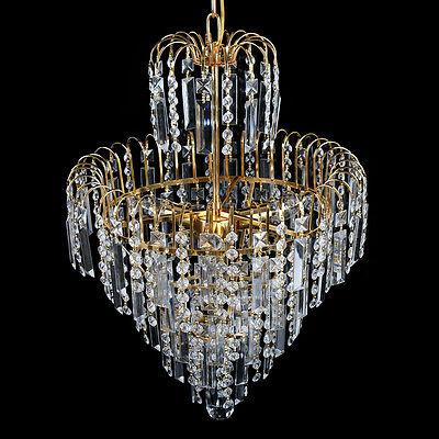 Fantastisch 3 Von 11 Kristall Kronleuchter Decken Hängende Helle Kristalllampen  Deckenlampen Lüster