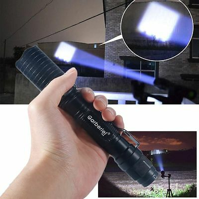 Tactical Police 990000Lumen T6 5Modes LED Flashlight Aluminum Torch Zoomable USA 5