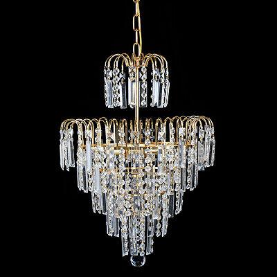 Schon 5 Von 11 Kristall Kronleuchter Decken Hängende Helle Kristalllampen  Deckenlampen Lüster