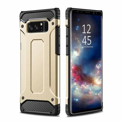 Hybrid Armor Shockproof Rugged Bumper Case For Samsung Galaxy S7 Edge S8 Note S9 10