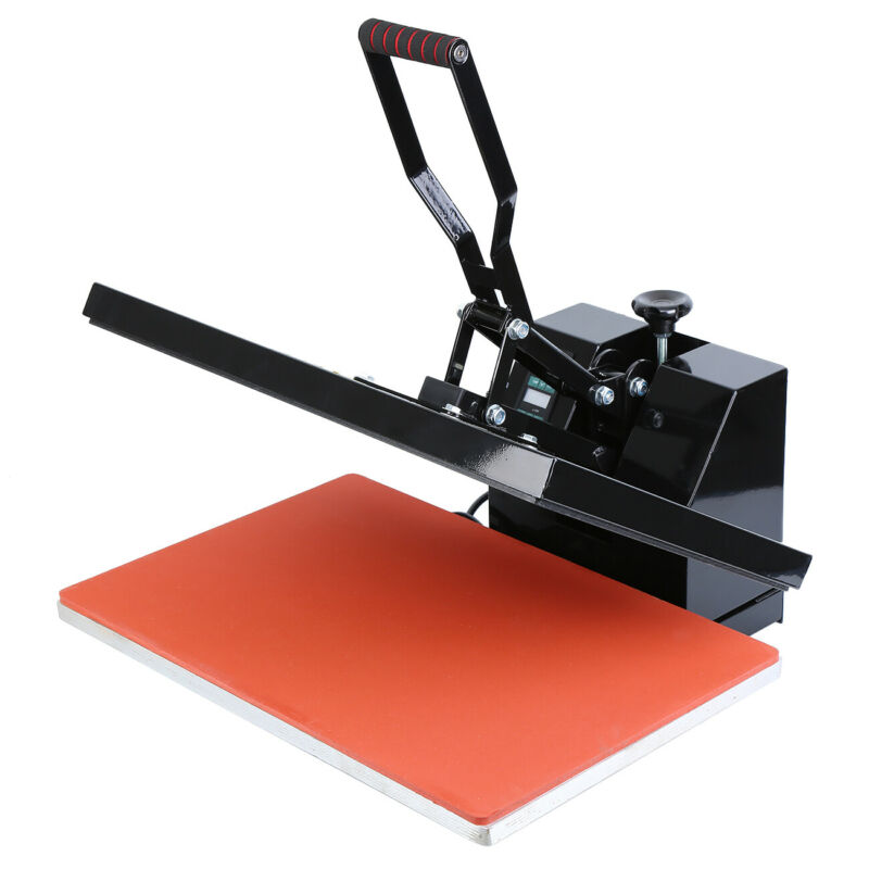 16x24 Digital LCD Clamshell Heat Press Transfer Sublimation Machine for T-Shirt 4