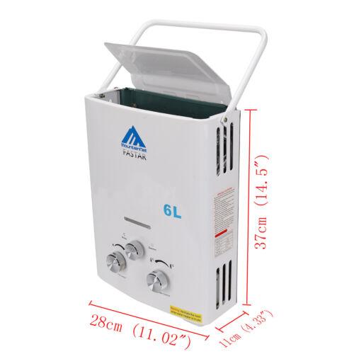 6L 12KW Propane Gas Durchlauferhitzer Warmwasserbereiter Wasserspeicher 4