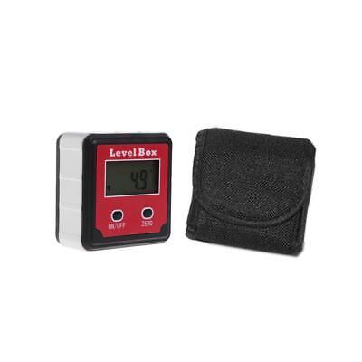 Digital Inclinometer Spirit Level Box Protractor Angle Finder Gauge Meter Bevel 7