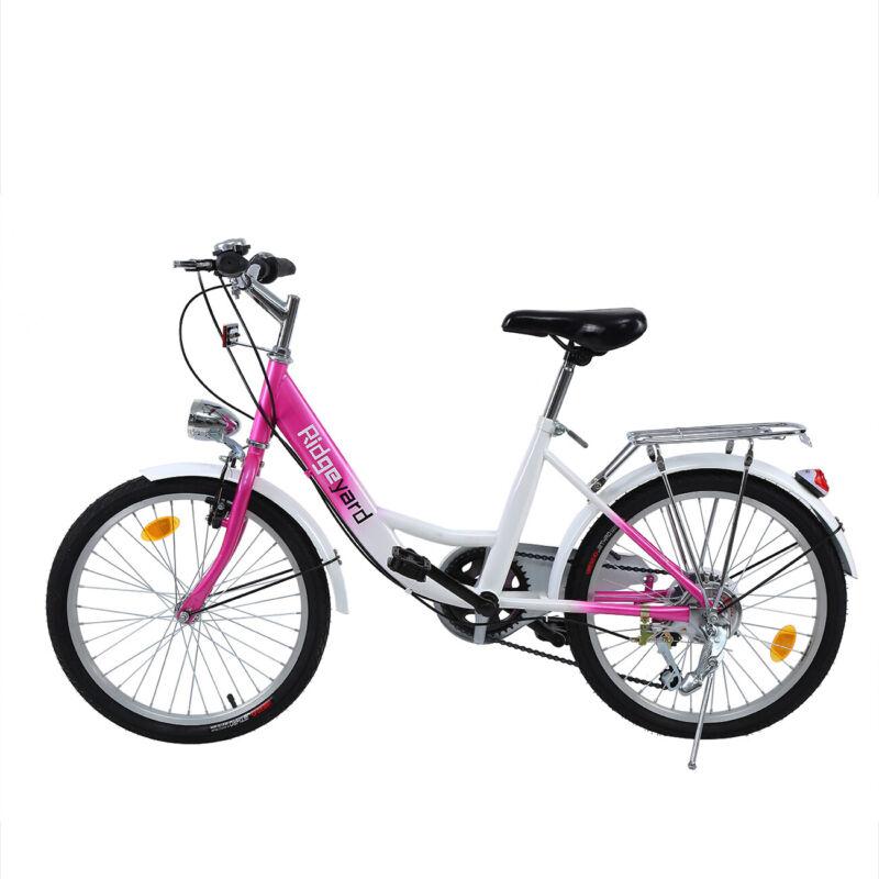 Bicicletta Per Bambini Bambina Ragazza 20 Pollici Bici In Rosa Da 8 15 Anni