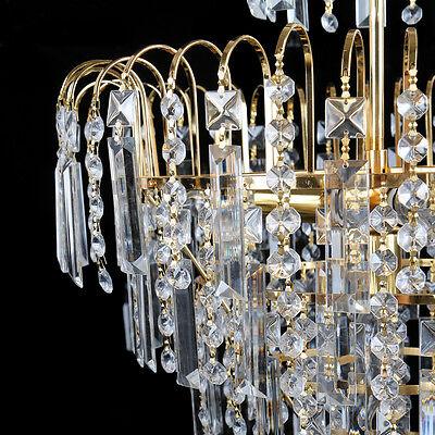 8 Von 11 Kristall Kronleuchter Decken Hängende Helle Kristalllampen  Deckenlampen Lüster