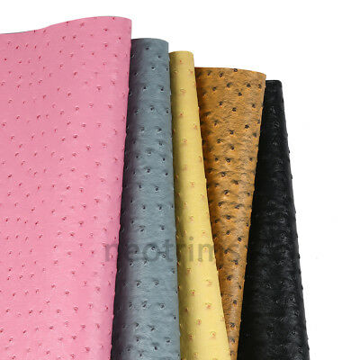 Ostrich Skin Faux PVC PU Leatherette Soft Fabric,Craft,Light Upholstery,Neotrims 4