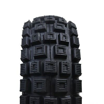 """2x  3.00-4"""" Inch Tyre/Tires & 260x85 Tubes Fit Trolley Electric Mobility Scooter"""