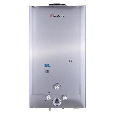 6/8/12/18L Chauffe eau au Gas NG / LPG instantané à gaz propane butane Chaudière 10