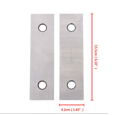 """1/8"""" Steel Parallel Set 10 Matched Pairs Parsllels 0.0002'' Hardened+Box 5"""