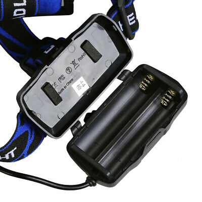 350000Lumen LED T6 Zoomable Headlamp USB Rechargeable Headlight 18650 Head Light 7