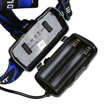 450000Lumen T6 LED Zoomable Headlamp USB Rechargeable 18650 Headlight Head Light 7