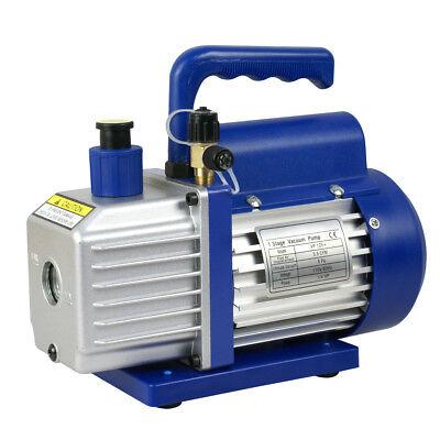 1/4hp Rotary Vane Deep Vacuum Pump 3.5CFM R410a R134 HVAC AC Refrigerant Charge 3