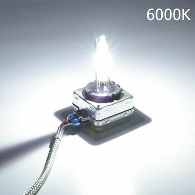 2x 35W D1S Ampoule HID Blanc Pur Xenon Aluminium Phare Cob Voiture 6000K Kit 12V 2