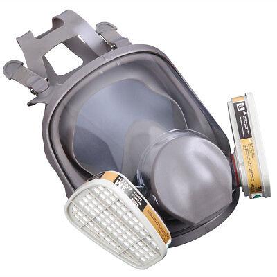 15 in1 Maschera Respiratore Antigas Antipolvere Protezione FILTRO pieno facciale 5