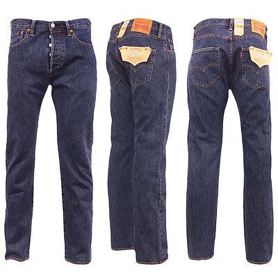 Levi 501 Jeans Mens Original Levi's Strauss Denim Straight Fit New All Sizes