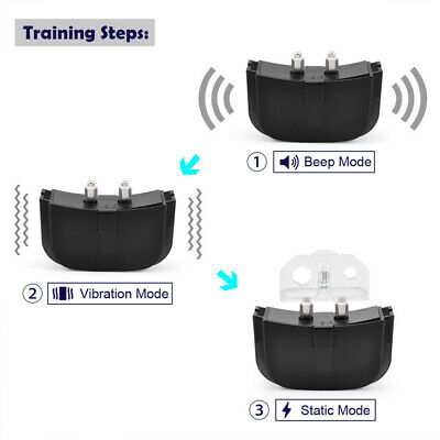 Dog Shock Collar With Remote Waterproof Electric for Large 328 Yard Pet Training 5