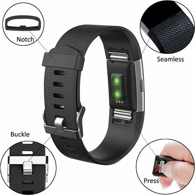 For FitBit Charge 2 Strap Replacement Band Metal Buckle Wristband Accessory 5