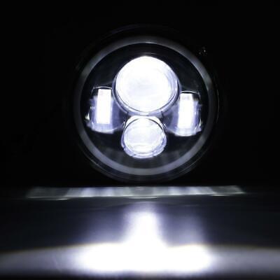 "Pair 7"" INCH 200W LED Headlights Halo Angle Eye For Jeep Wrangler CJ JK LJ 97-18 8"