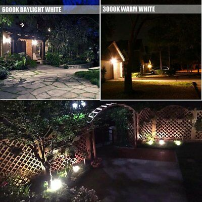 W-LITE 30W Super Bright LED Floodlight Outdoor, 2700Lm, 250W Halogen Bulb Equiva