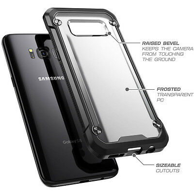 For Samsung Galaxy S8+ Plus Case Hybrid TPU ShockProof Protective Rugged Cover 3