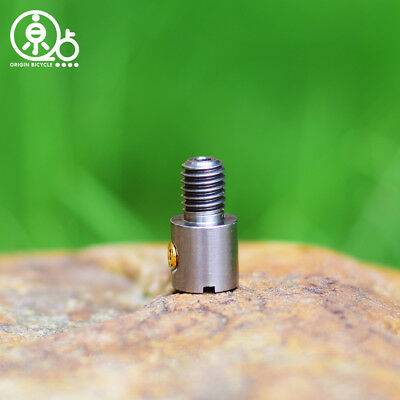 MiniMODs Brompton Titanium Barrel Nut for 2//6 speed derailleur cable